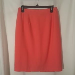 Requirements Women's Midi Skirt Sz.12 Living Coral